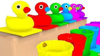 Video Learn Colors with McQueen Surprise Eggs Ducks for Children Babies - Cars For Kids With Ducks MP3, 3GP, MP4, WEBM, AVI, FLV November 2017