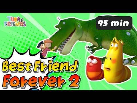 [TUBAn FRIENDS] BEST FRIEND FOREVER 2 | DinoCore | Larva | Cartoon | Full Episodes