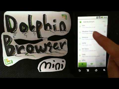 Video of Dolphin Browser® Mini