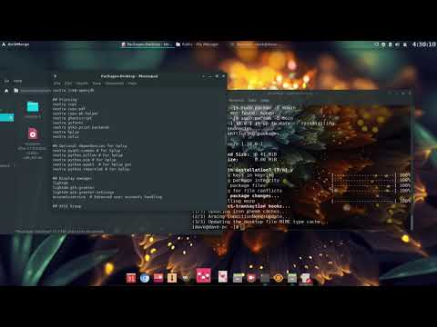 Working On The ArchMergeD Xfce Build