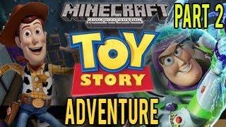 Minecraft Xbox - Toy Story Adventure - Let's Play #2