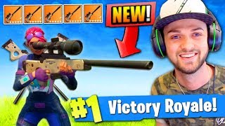 Download Video *NEW* SNIPER ONLY VICTORY in Fortnite: Battle Royale! MP3 3GP MP4
