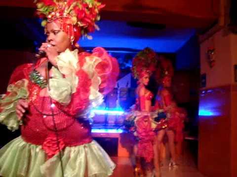 SALSA CUBANA EN EL REST. RINCON CUBANO MEXICO DF (видео)