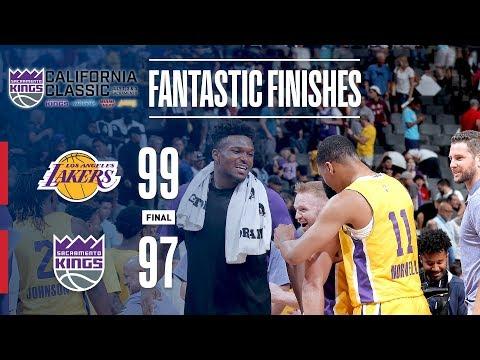 Video: Lakers Complete EPIC Comeback   California Classic