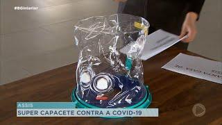 Assis recebe capacetes respiratórios que ajudam no tratamento da Covid -19