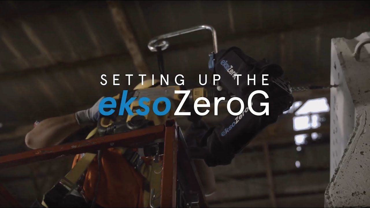 EksoZeroG Setup for Construction