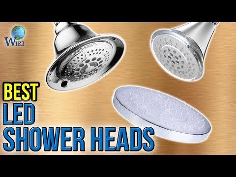 10 Best LED Shower Heads 2017