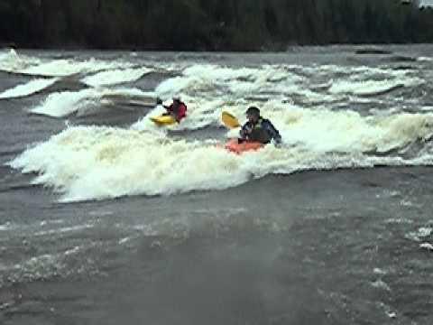 The Whole Playboating Scene at Sturgeon Falls