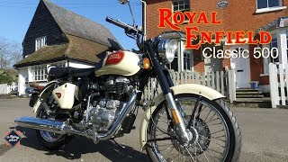 10. Royal Enfield Classic 500 Cream  - Test Ride Review