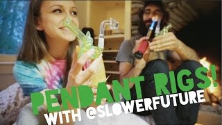 ThickAssGlass Pendant Rigs w/ SlowerFuture! by Silenced Hippie