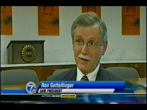 UAW President Gettelfinger on channel 7 news