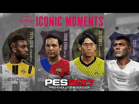 PES 2017 Iconic Moments Trailer