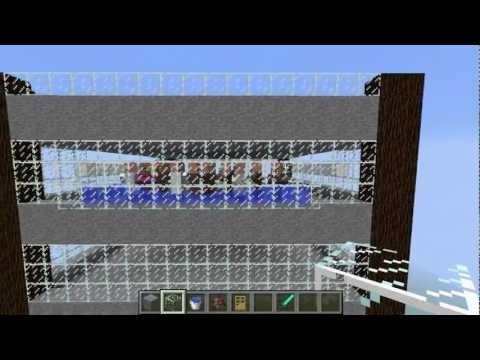 Minecraft - Compact Iron Golem Tower Farm Tutorial