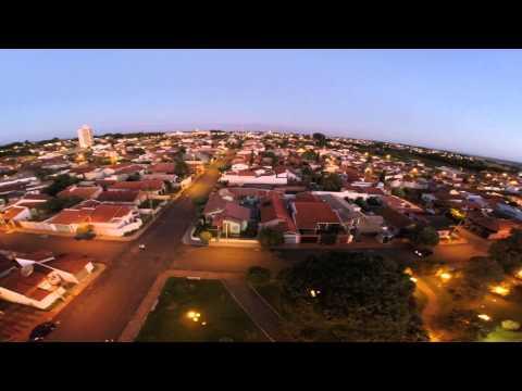 Filmagem aérea - Igreja Sta Terezinha Cândido Mota/SP