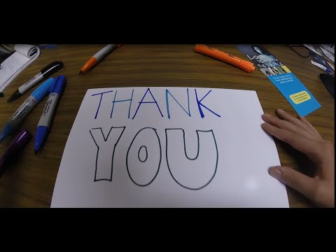 DONOR THANK YOU VIDEO