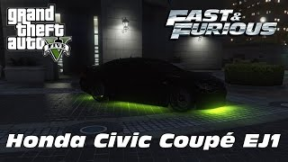 Nonton 1993 Honda Civic Coupé EJ1 - Letty, Dom, Leon (The Fast and the Furious) Film Subtitle Indonesia Streaming Movie Download