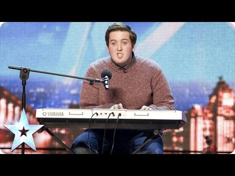 Eirian Jones & his self-penned comedy song | Britain's Got Talent 2014