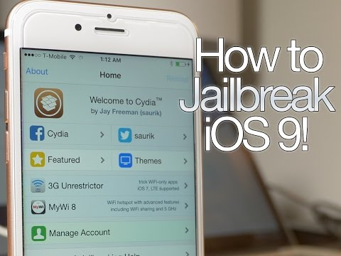How to jailbreak iOS 9 with Pangu