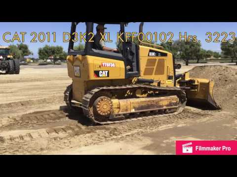 CATERPILLAR TRACK TYPE TRACTORS D3K2XL equipment video 6QMCylOLWJ0