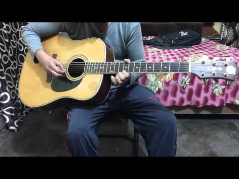 Raaga Khamaj On Guitar(Lesson #4)....