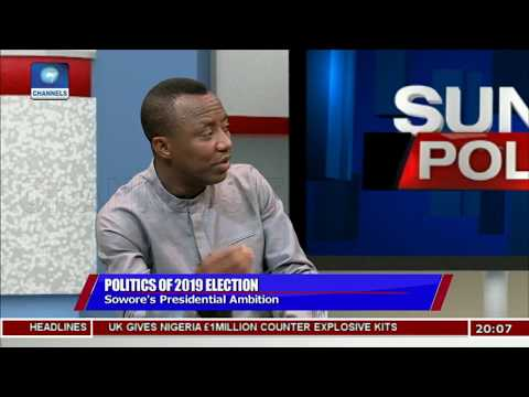 I Am More Qualified To Run Nigeria Than Current Leaders - Omoyele Sowore |Politics Today|