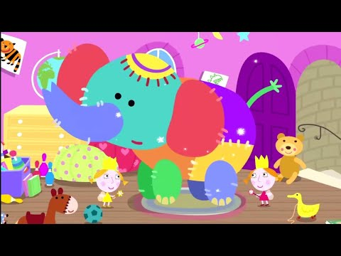 Ben and Holly's Little Kingdom | Little Twins, Big Elephant | 1 Hour Compilation | Cartoons for Kids