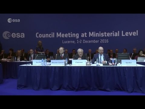 ESA Ministerial Council 2016: Into Space 4.0