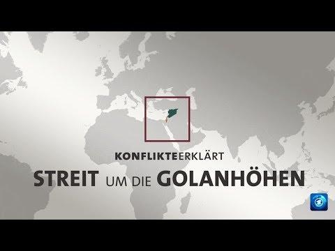 Konflikte erklärt: Streit um die Golanhöhen