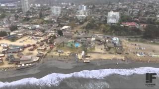 Concon Chile  city photo : Icarus Films Drone ll Playa la boca, Concon, Chile