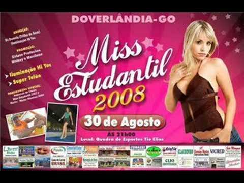 MisS ESTUDANTIL 2008 EM Doverlandia-go (CLIPE)