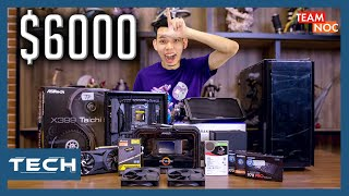 Video Building a $6,000 Gaming PC for NOC Office! MP3, 3GP, MP4, WEBM, AVI, FLV Juni 2019