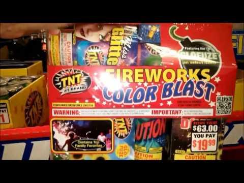 TNT Fireworks FRY's 2017 AZ