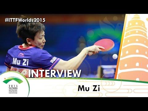 Mu Zi - Interview QOROS 2015 World Table Tennis Championships