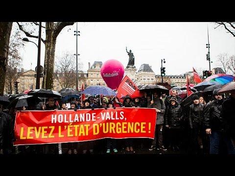 Γαλλία: Διαδηλώσεις ενάντια στην κατάσταση εκτάκτου ανάγκης