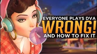 Overwatch: Everyone Plays D.Va WRONG! - Meta Misconceptions