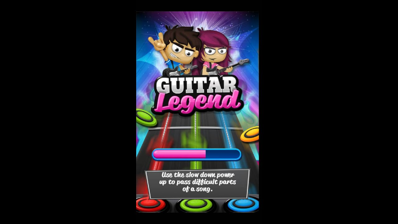 Guitar Legend – gameplay no android
