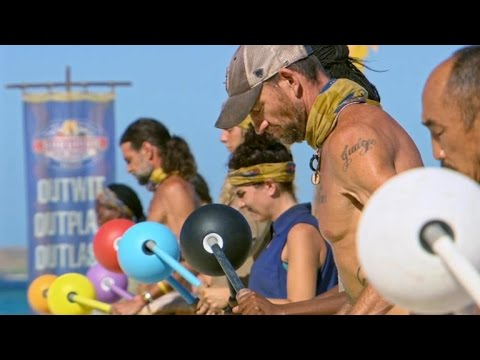 Survivor - Immunity Challenge: Can't Buoy Me Love