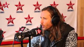 David Guetta en interview dans Le Lab Virgin Radio