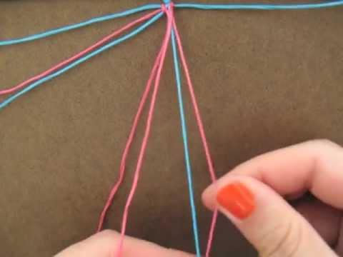 spread the love: heart pattern friendship bracelet tutorial