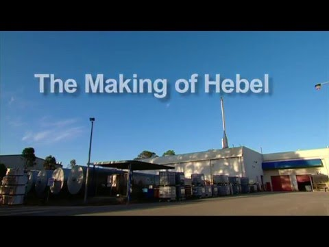 How Hebel is made - manufacturing process