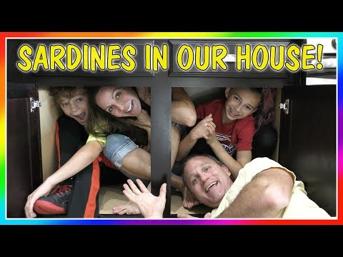 SARDINES IN OUR HOUSE