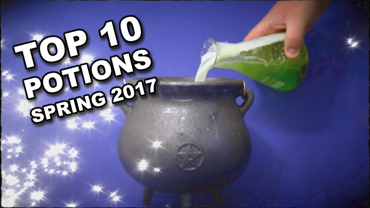Top 10 Potions For Spring 2017