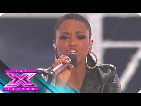 "Paige Thomas' ""Never Gonna Give You Up"" - THE X FACTOR USA 2012"