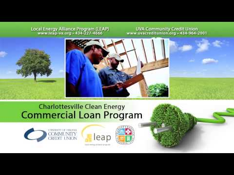 Charlottesville Clean Energy Commercial Loan Program