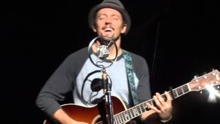 "Jason Mraz & Raining Jane - ""Tonight, Not Again"" Vancouver Oct. 23 2014"