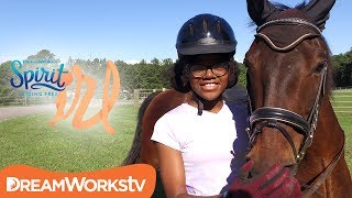 Confidence at school, confidence at home, and confidence on your horse of course. Bella from MyFroggyStuff demonstrates how to be the most powerful you.And don't forget to watch Spirit Riding Free! Now Streaming on Netflix! http://www.netflix.com/spiritridingfree→ Credits ←Starring Bella from https://www.youtube.com/user/MyFroggyStuff/featuredExecutive Producer by Judy MeyersProduced by Chelsea ButlerEdited by Casey DonahueFollow DreamWorksTV! instagram - https://instagram.com/dreamworkstv/twitter - https://twitter.com/dreamworkstvfacebook - https://www.facebook.com/dreamworkstvJoin the fun on DreamWorksTV where you can find an endless supply of laugh-out-loud jokes, lovable characters, life hacks, music, magic, gaming and more! Get crafty with our DIY hacks, sing along to today's catchiest songs, surprise your friends with clever magic tricks, and learn all the best video game tips and tricks. DreamWorksTV has it all, made just for kids! Check back daily for new episodes and don't forget to follow us on Facebook and Instagram. → Watch Something New! ← http://bit.ly/1L3zRrF→ SUBSCRIBE TO DreamWorksTV! ← http://bit.ly/1kulRcU