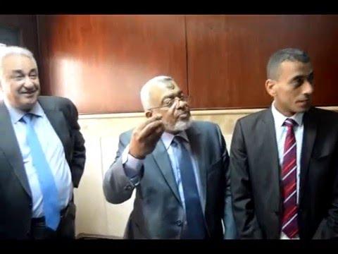 حسن امين:يؤكد على وحدة محامين جنوب القاهرة والتعاون بين رئيس المحكمة والمحامين