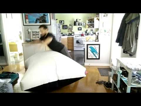 Guy Creates Giant Whoopee Cushion Cat is Not