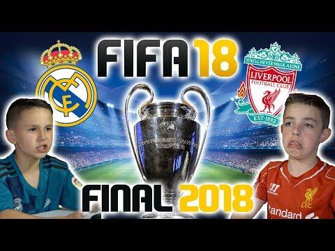 CHAMPIONS LEAGUE FINAL 2018 | REAL MADRID VS LIVERPOOL | FIFA 18 SCORE PREDICTOR!