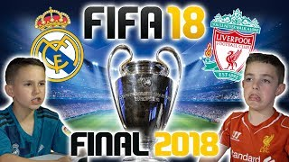 Video CHAMPIONS LEAGUE FINAL 2018 | REAL MADRID VS LIVERPOOL | FIFA 18 SCORE PREDICTOR! MP3, 3GP, MP4, WEBM, AVI, FLV Februari 2019